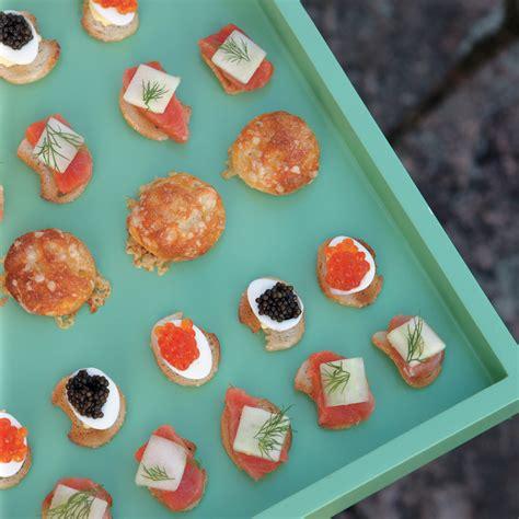 deviled quail eggs  caviar