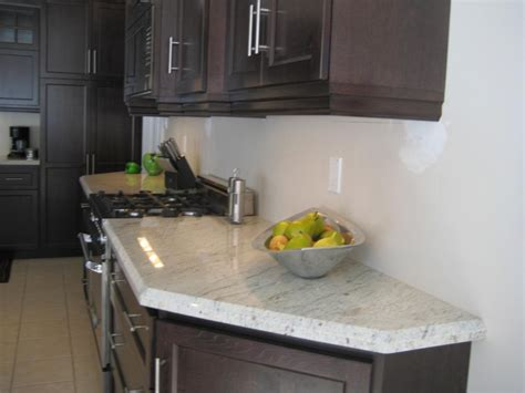 White Kitchens With Granite Countertops by Add Luxury To Your Kitchen With River White Granite