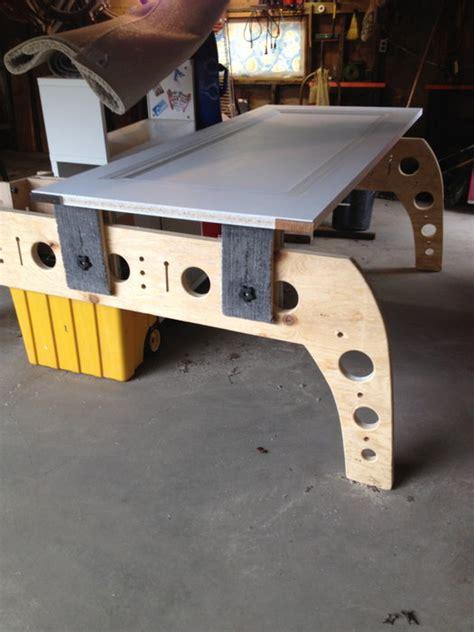 legged sawhorse design  basswood  lumberjocks