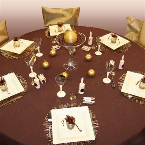 decoration du chocolat pour mariage d 233 coration de table chocolat ivoire or d 233 corations f 234 tes