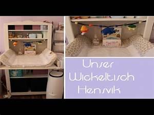 Ikea Hensvik Wickeltisch : unser wickeltisch hensvik youtube ~ A.2002-acura-tl-radio.info Haus und Dekorationen