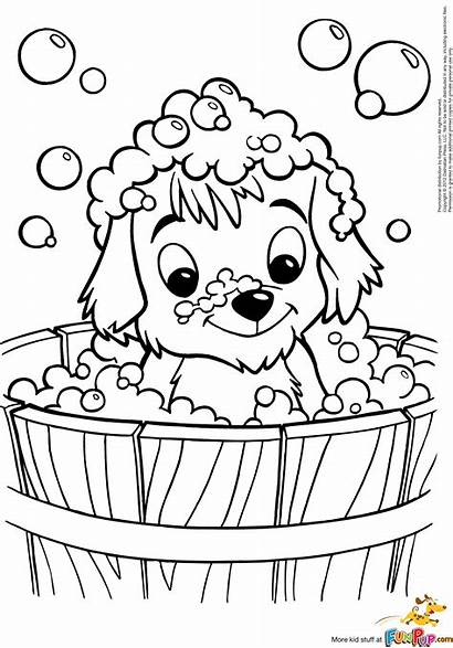 Coloring Pages Puppy Puppies Imagination Dog Printable
