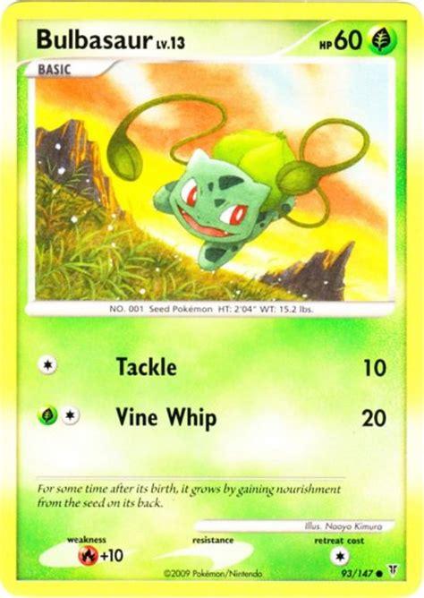 Meanwhile, team rocket has discovered the area and plans to snatch the weak pokémon. Serebii.net Pokémon Card Database - Supreme Victors - #93 Bulbasaur