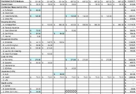 create  basic bookkeeping excel spreadsheet