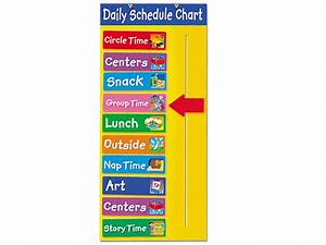 Daily Behavior Chart Template Free What Will We Do Today Schedule Chart At Lakeshore Learning