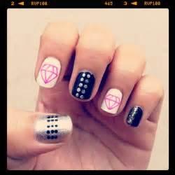 Nail designs with diamonds art