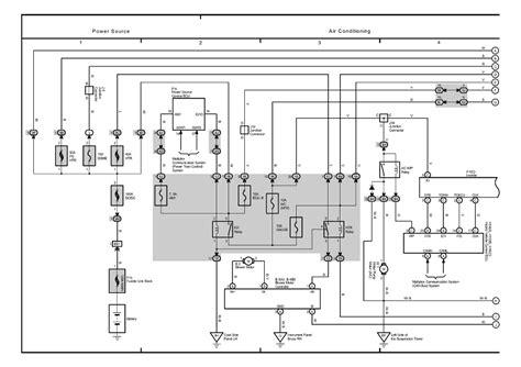 Toyotum Electrical Wiring Diagram by Repair Guides Overall Electrical Wiring Diagram 2005