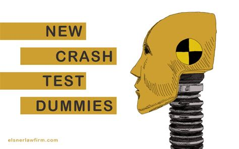 New Crash Test Dummies Now Acknowledge Different Body