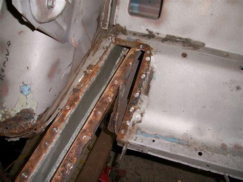 photo  repair rear frame  mustang maine mustang