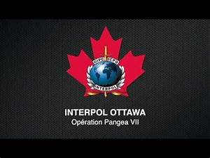 Interpol Ottawa - Opération Pangea VII - YouTube