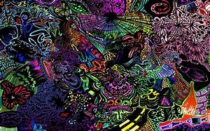 Trippy Rasta Weed Wallpaper ·①