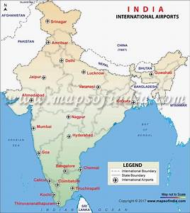 List of International Airports in India, International ...
