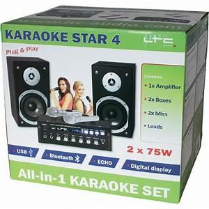Lautsprecherbox Berechnen : ltc karaoke set usb bluetooth star4 im conrad online shop 095717 ~ Themetempest.com Abrechnung