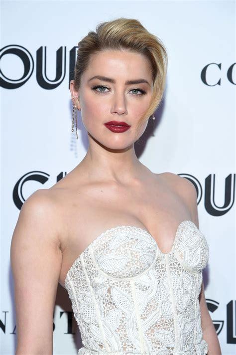 amber heard glamour women   year awards