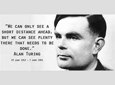 Alan Turing Quotes QuotesGram