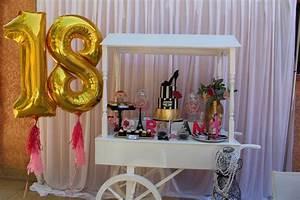 Deco Table 18 Ans : un 18e anniversaire chic et glamour sur le th me paris ~ Dallasstarsshop.com Idées de Décoration