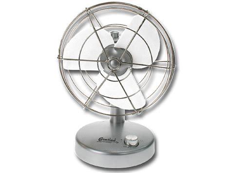 ventilateur de bureau usb base argentée