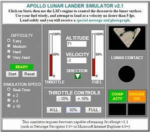 "Apollo Lunar Lander from the RetroWeb ""Contact Light"" Website"