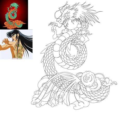 mi tatuaje del dragon de shiryu ya cicatrizado tatoos