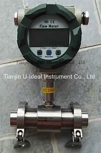 China Steam  Gas  Water Vortex Flow Meter  Turbine