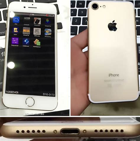 iphone photos leaked photos show working iphone 7 unit for the