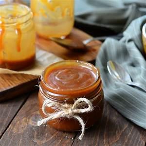recette caramel au beurre salé facile rapide