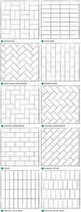 Pattern Potential  Subway Backsplash Tile