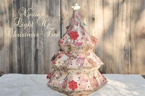 3d christmas tree snowman element. Vintage Paper Christmas Tree | Paper christmas tree ...