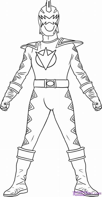 Coloring Power Pages Ranger Jungle Fury Rangers