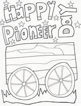 Pioneer sketch template