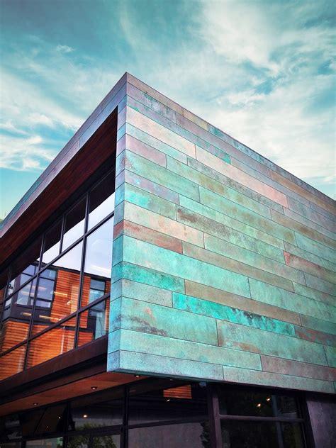 Metal Building Facade Architecture