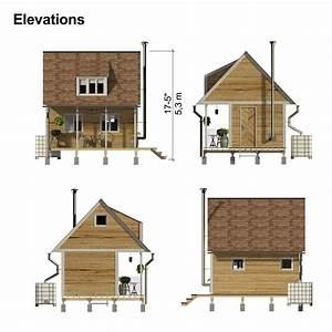 Cabin, Plans, With, Loft, Bedroom