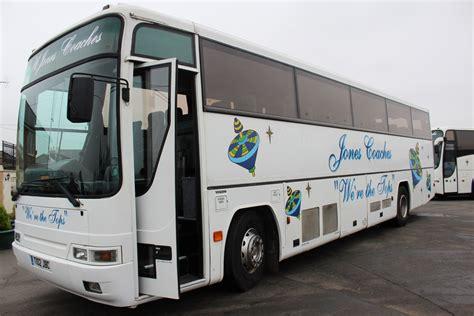 volvo bm plaxton premiere   sts hills coaches