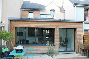 Agrandissement Maison : extension maison bois construction services ~ Nature-et-papiers.com Idées de Décoration