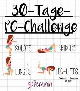 30 Tage Fitness : 30 tage po challenge in einem monat zu einem knackigeren po ~ Frokenaadalensverden.com Haus und Dekorationen