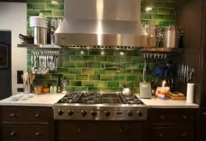 green tile backsplash kitchen crafty faux glass tile backsplash