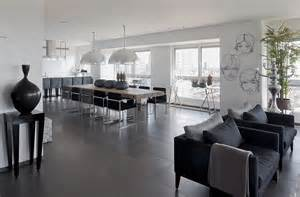 esszimmer grau modern white and gray apartment interior design by lanciano design home building furniture