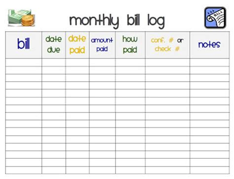 monthly bill organizer notebook i heart crafting how to create a home management binder