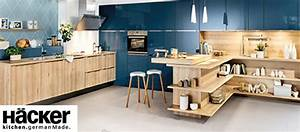 Häcker Küchen Arbeitsplatten : h cker k chen arbeitsplatten fronten schr nke nach ma griffe einbauk chen von h cker ~ Markanthonyermac.com Haus und Dekorationen