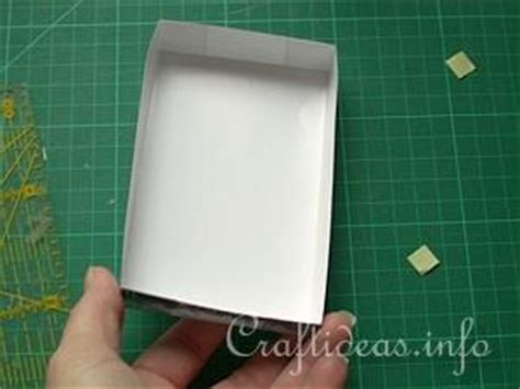 craft ideas learn    small greeting card boxes