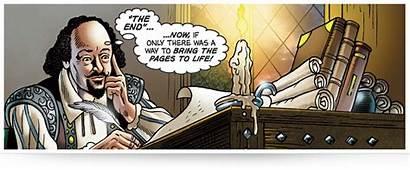 Comic Comics Classical Shakespearean Shakespeare Graphic Spokeshave