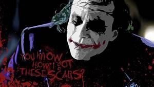 Joker Batman The Dark Knight Heath Ledger Movies 99822 ...