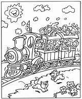Trein Coloring Kleurplaten Trains Treinen Train Printable Eisenbahn Kleurplaat Ausmalbilder Toy Zum Malvorlagen Zuge Voertuigen Sheets Relay Kostenlos Konabeun Stained sketch template