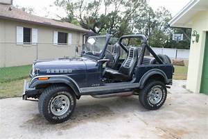 1981 Jeep Cj 4wd Cj7 All Original 2 Owner Real Laredo Rare