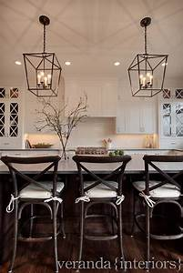 White kitchen cross mullions on glass windows dark