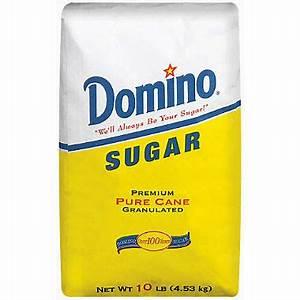 Domino Sugar, Pure Cane, Granulated (10 lb.) - Sam's Club
