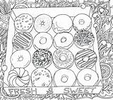 Coloring Donut Donuts Pages Box Printable Europe Worksheet Coffee Adult Bestcoloringpagesforkids Cool Preschool Rocks Whitesbelfast sketch template