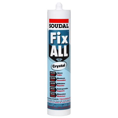 soudal fix all soudal fix all adhesive