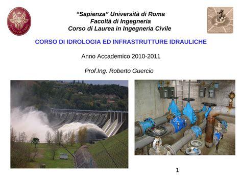 idrologia dispense ciclo idrologico e clima dispense