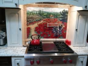 kitchen backsplash tile mural custom tile  tile murals